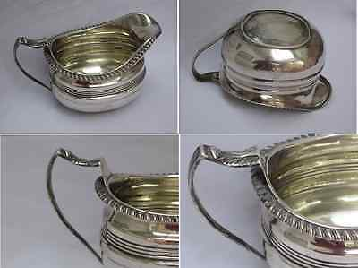 Magnificent Large & Heavy William IV 1835 Sterling Silver English Creamer.