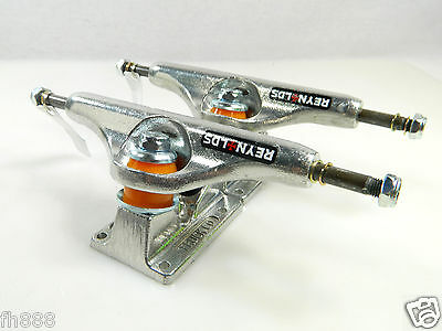 Independent 139 Reynolds II Stage 11 GC Hollow Baker Skateboard Trucks Silver