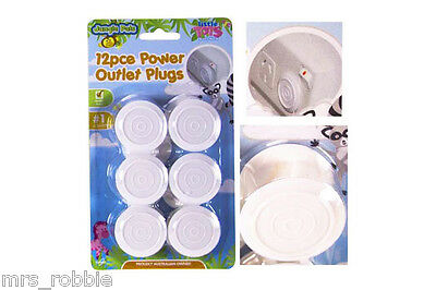 Safety Power Point Outlet Plug 3 Pin AU Cover Electric Mains Baby Child Caravan
