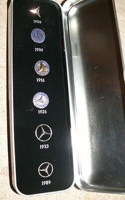 D7 Mercedes Stern Revers Sticker 1909-1989