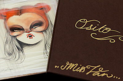 Miss Van - OSITO - Framed, Signed & Numered - Original Art - Giclee print