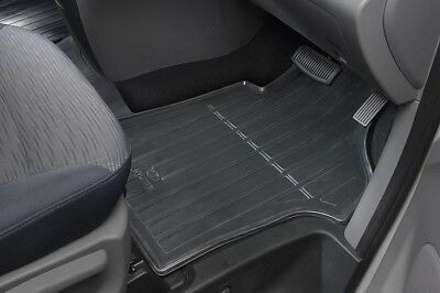 Genuine Hyundai iMax iLoad New Tailored Rubber Floor Mats Front Cabin ONLY