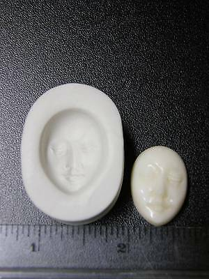 Goddess Face Polymer Clay Mold (#MD1087)