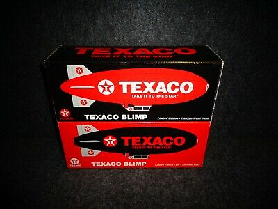 TEXACO BLIMP'S 1-RD 1-BLK Airship Zeplin 5000 MADE LIBERTY CLASSICS Die Cast A