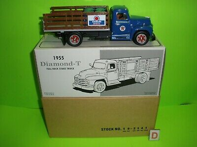 TEXACO 1st FIRST GEAR 19-2141 HAVOLINE 1955 DIAMOND-T STAKE TRUCK NEW MIB 1:34 C