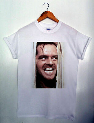 Here's Johnny The Shining Hipster Graphic Jack MENS & WOMENS T-shirt S-XXL