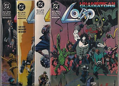 LOBO UNAMERICAN GLADIATORS #1-#4 SET (NM) ALAN GRANT