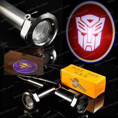 New Ghost Shadow Laser Projector Logo Cree LED Light Door Step - Transformers