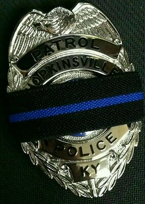 Thin Blue Line Police Mourning Bands