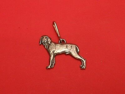 Weinmarner Dog Pewter Zipper Pull Dad Vet Mothers Day Useful Gift NEW