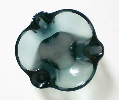 50s WMF Ascher Wilhelm Wagenfeld Aschenbecher mid century glass ashtray