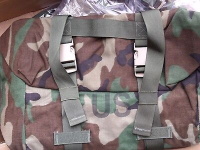 New US Army Military Woodland Camo Sleep System Carrier Bag MOLLE MSS Bivy Sack