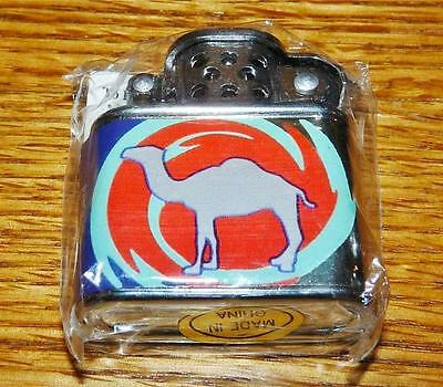 RARE RETRO 1997 CAMEL CIGARETTE LIGHTER MINI LIFT ARM COLOR ART DECO NIP SMOKE