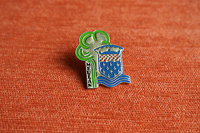 02686 Pin's Pins France Meulan 78 Blason