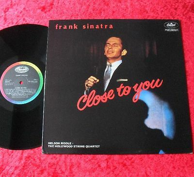 Frank Sinatra LP Close to you TOP ZUSTAND!