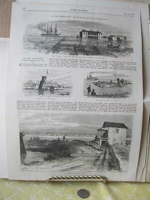 Vintage Print,ON THE MISSISSIPPI,Every Saturday,May 1871
