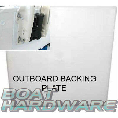 8mm Fishing Boat Outboard Engine BACKING PLATE Avoid Electrolysis on Aluminium