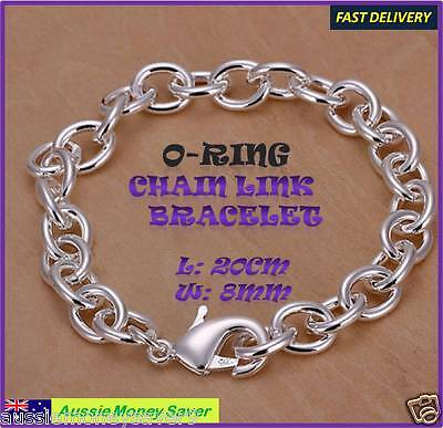 Adjustable 925 sterling silver P ring chain Baby Bracelet anklet FRE HEART CHARM