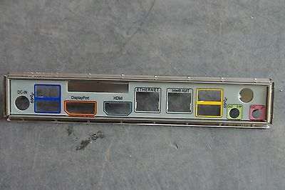 Intel I/O Shield. Backplate. DQ77KB Low profile only.