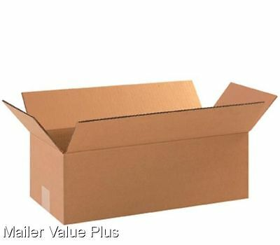 50  18 x 8 x 6 Corrugated Shipping Boxes Packing Storage Cartons Cardboard Box