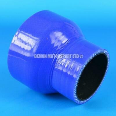 Silicone Hose Straight Reducer Blue Joiner (All Sizes Available) Black Liner
