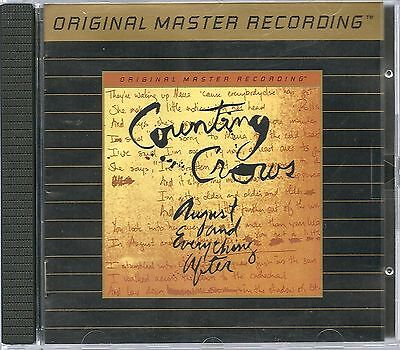 Counting Crows August And Everything After MFSL Gold CD UII ohne J-Card
