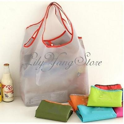 Recycle Foldable Eco Friendly Reusable Shopping Grocery Tote Bag Storage Shopper