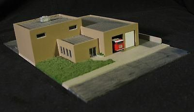 DOWNTOWN FIRE STATION - Z-103 - Z Scale by Randy Brown