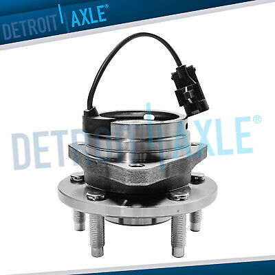 Brand New Complete Front Driver / Passenger Side Wheel Hub Bearing Assembly ABS