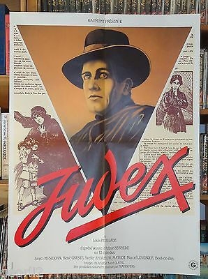 LOUIS FEUILLADE/JUDEX/ french poster