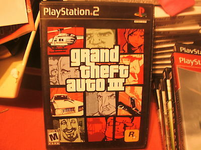 GRAND THEFT AUTO 3 ON PLAY STATION 2