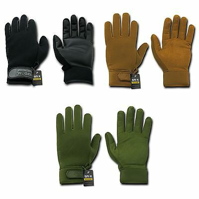 Winter Neoprene Outdoor Work Gloves Patrol Military Moisture Protection RapidDom