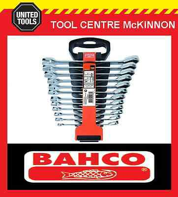 BAHCO 1RM/SH12 12pce RATCHET COMBINATION GEAR RING & OPEN END WRENCH SPANNER SET