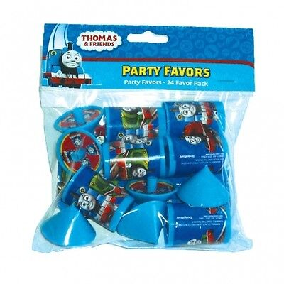24 Piece Thomas The Tank Favor Pack Kids Party Toys Loot Bag Filler Gifts