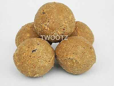 300 Mealworm Suet Fat Balls / Fatballs (No Net) for Wild Bird Food