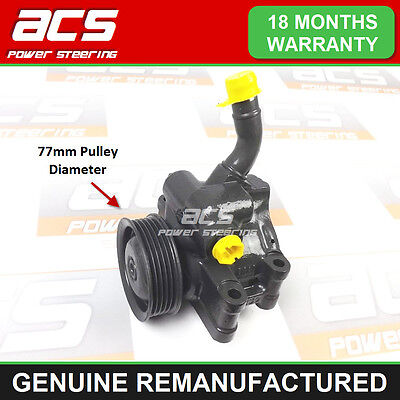 POWER STEERING PUMP FORD FIESTA 1.4 16v 2002  (NO SURCHARGE) RECONDITIONED