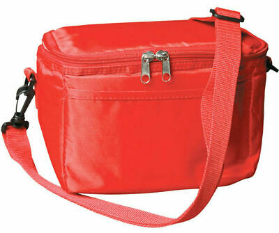 6 Can Cooler Drink Insulated Bag Travel Picnic Lunch New