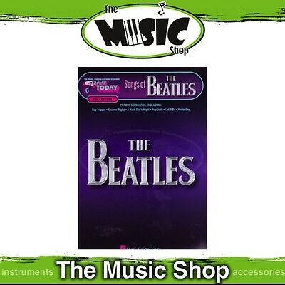 New EZ Play #006 Songs of the Beatles Piano Music Book -  Easy Play - E-Z Play