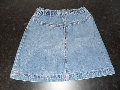 Girls Denim (George) Skirt. Age 5-6.
