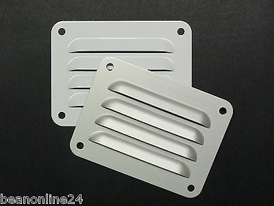 Aluminium Air Vent 100 x 75mm - White or Silver