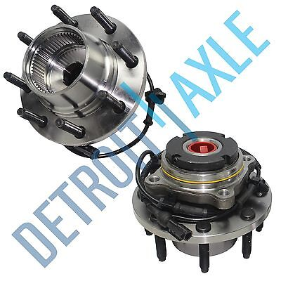 (2) Front Wheel Hub & Bearing SRW Coarse Thread ABS FROM 3/22/99 - 4x4 - w/ABS