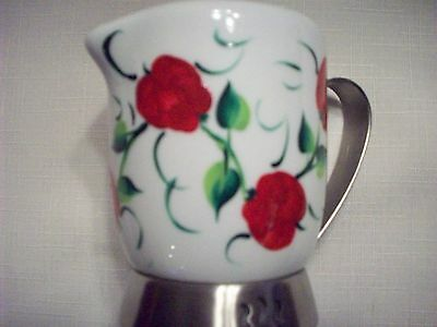 Hand painted Apples pitcher