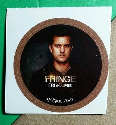 Fringe Peter Bishop Joshua Jackson Tv Get Glue Sticker