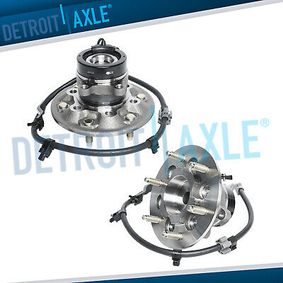 (2) Front Wheel Bearing & Hub for 2004-2008 Chevy Colorado GMC Canyon 2WD