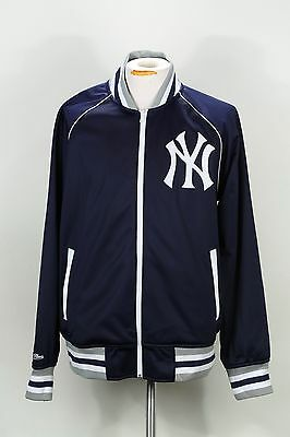 863fbb7c2 MITCHELL & NESS MEN'S MLB TRACK JACKET 6019A-418 NEW YORK YANKEES (msrp: