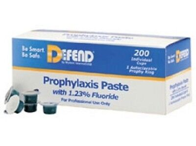 Defend Prophy Paste Medium Grit Mint Flavored With Fluoride 200/box