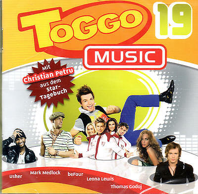 Toggo Music 19 -  22 coole Songs - Mit Christian Petru - NEU - CD