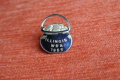 02889 Pin's Pins Usa Illinois Wba 1985