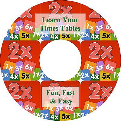 Learn Your Times Tables Sing-A-Long Audio CD - A Fun & Easy Way to Learn