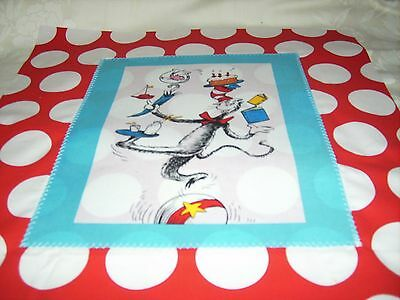 """Pillow COVER 16"""" Dr. Seuss Cat in the Hat balancing on ball #2"""